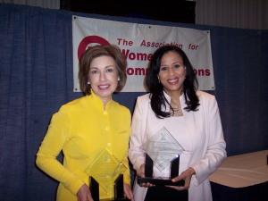Kate Perrin Michelle Singletary Matrix Awards 2009