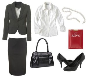 job interview suit-women