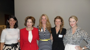 Jennifer Meffert, Kate Perrin, Shelby McIntosh, Sarah Newall and Lacey Faeh.