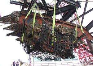 USS Monitor engine_recovery