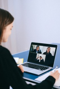Canva - People on a Video Call